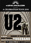 U2 'A Celebration Tour 2010' You2band Sala Trébol Murcia 27 Marzo 2010