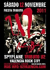 Fiesta Tributo U2 Spyplane 'ZOO TV' Rock City Valencia 12 Noviembre 2011