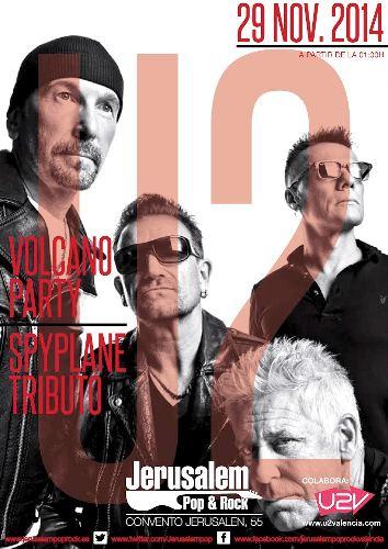 U2 Volcano Party