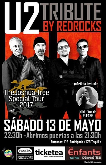 Red Rock Tributo U2