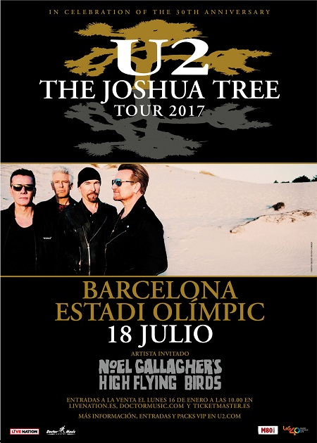 u2 the joshua tree barcelona
