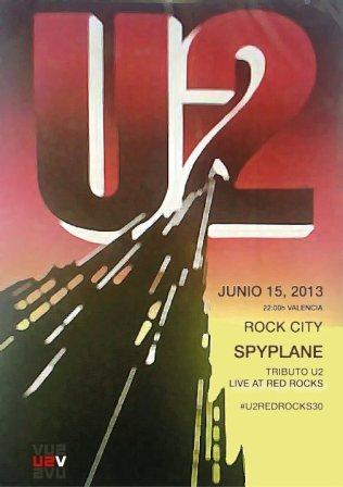 U2 Live at Red Rocks - Valencia