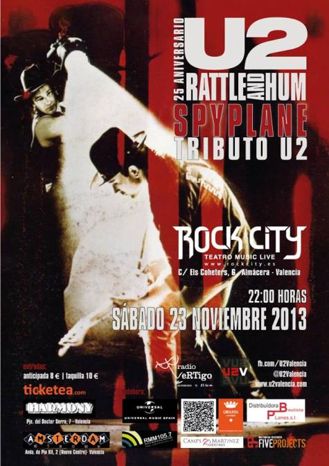 Rattle and Hum 25 Aniversario