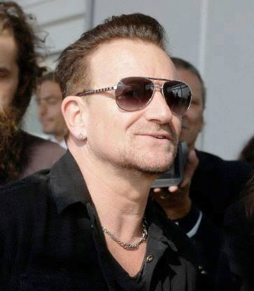 Bono con Louis Vuitton