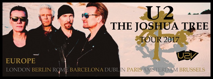 U2 The Joshua Tree Leg Europa