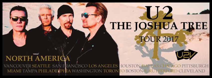 U2 The Joshua tree Leg Norte America