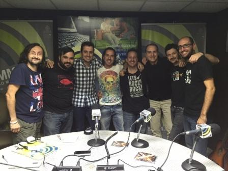 Six To Fix en el estudio