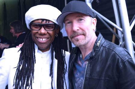 Neil Rodgers y The Edge