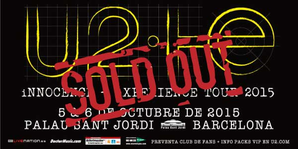 U2 SOLD OUT