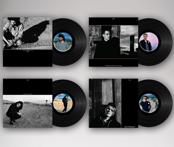 U2 The Joshua Tree Singles Vinyl Collection 1987 & 2017