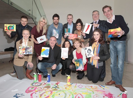 Chernobyl Children Secret's Art Campaign